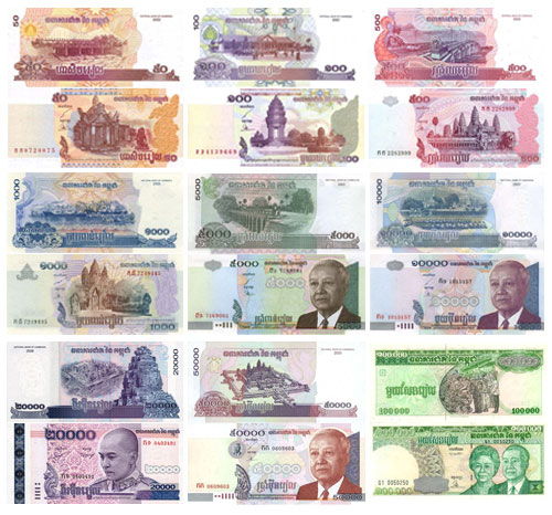 Cambodia currency, Cambodian Riel