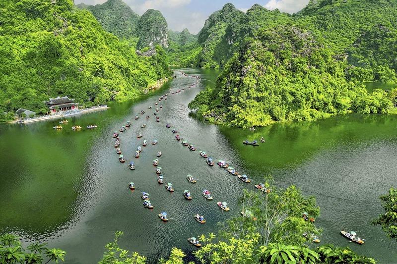 A corner of Trang An, Ninh Binh