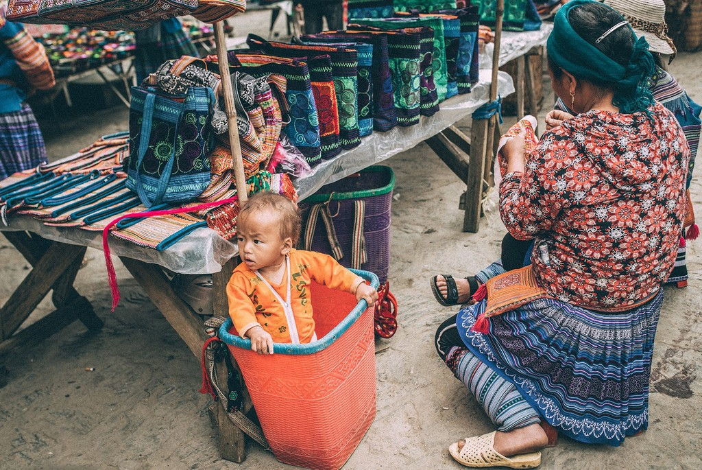 market in Bac Ha