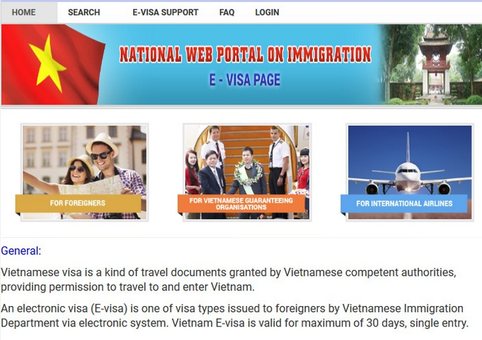 What's Vietnam Electronic Visa?