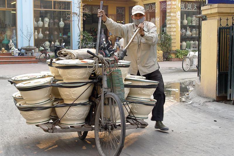 Bat Trang pottery village