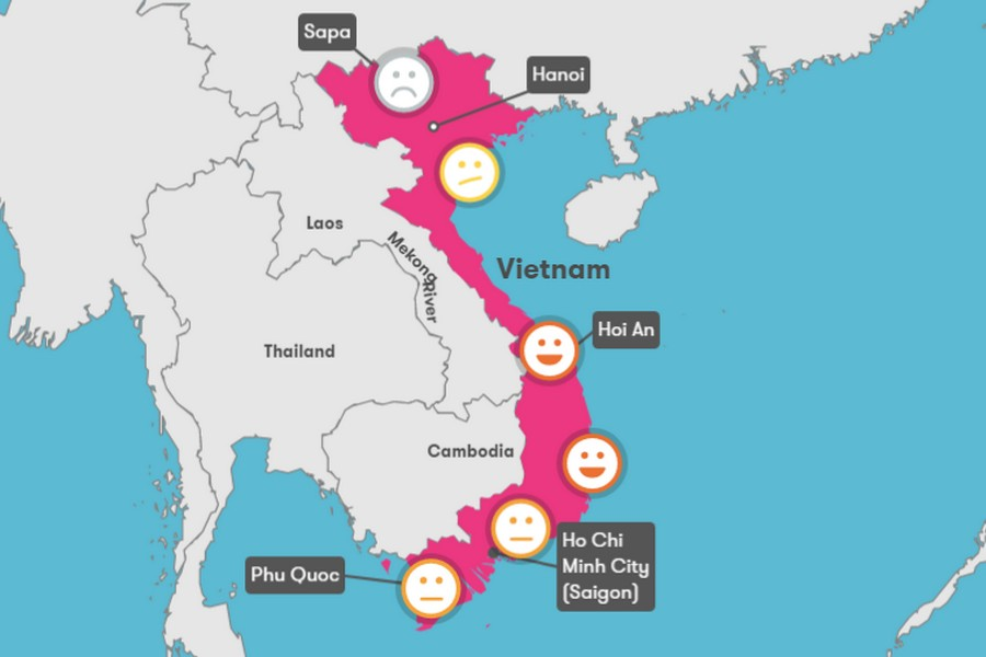 Vietnam climate: Weather, climate chart and the Best time to travel